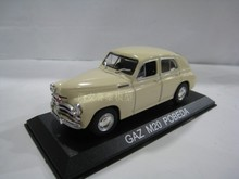 I XO 1:43 GAZ M20 POBEDA alloy model Car Diecast Metal Toys Birthday Gift For Kids Boy