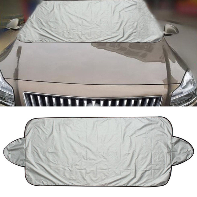 Windscreen Cover Vehicle Protector Anti-UV Foldable Car Styling Sun Shade Car Nylon with Sunction Cup Automobile Rain Shield