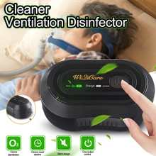 2200mAh CPAP Ozone Generator Cleaner Ventilation Disinfector Sterilizer Air Purifier Air Disinfection Vegetables Sterilization
