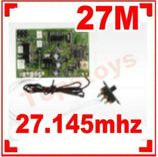 9104-20 Controller Equipment Double Horse helicopter Shuang ma receiver receiving board PCB (27MHZ)