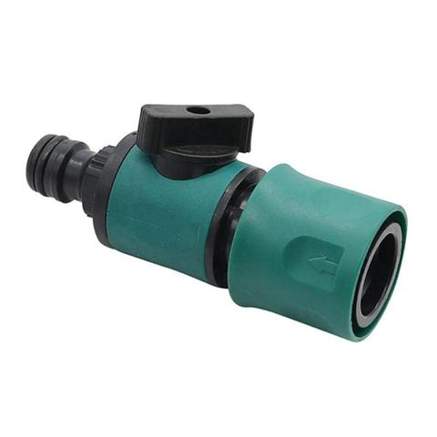 Agricultural Garden Micro Irrigation Watering System Connector For 16mm OD Pipe