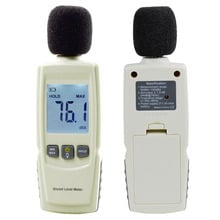 Test Technologies LCD Digital Sound Noise Level Describe Meter 30-130dBA Stock Offer 2017 Hot Sales
