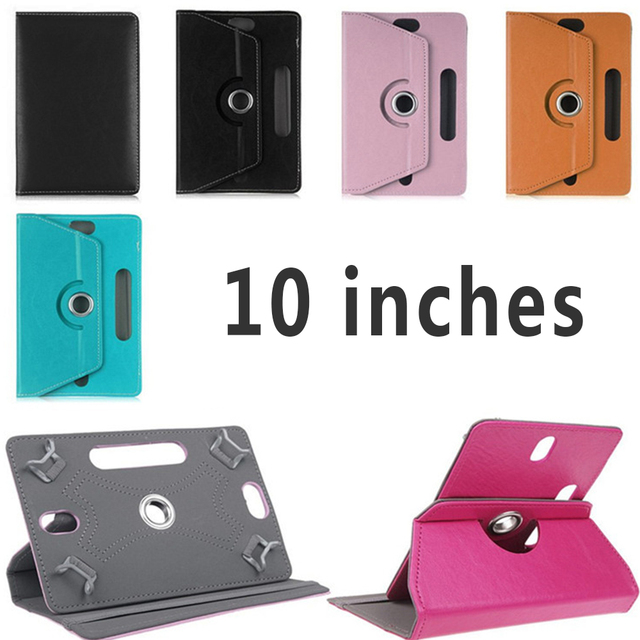 10 Inches Tablet PC Case Anti-Scratch PU Leather Tablet Cover Universal Accessories Corner can be unloaded 360 degree flip