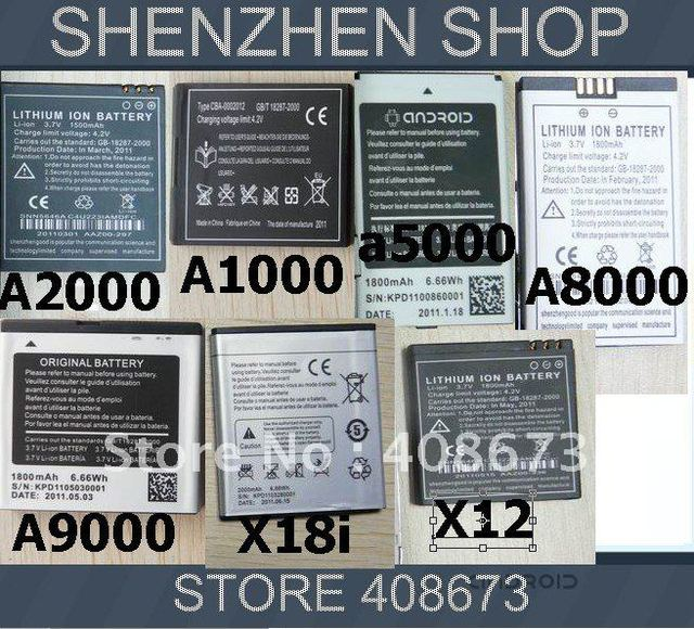 Phone Battery For STAR phone Android a1000,a2000,a5000,x12,a8000,x10 and more Free Ship