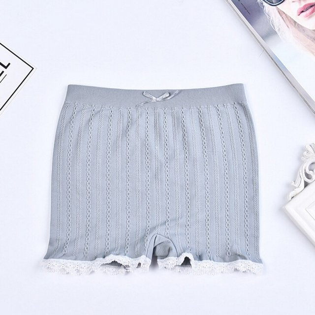 Hot Sales Women' S Casual Soft Seamless Lace Shorts Stretchy Cotton Shorts Summer Hot Trendy