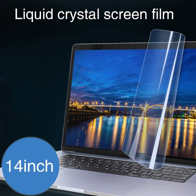 14 Inch Notebook Sticker Screen Protector Laptop Protective Film Waterproof Portable Computer Durable