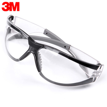 3M 11394 Safety Glasses Goggles Anti-Fog Antisand Windproof Dust Resistant Transparent Glasses Protective Working Eyewear