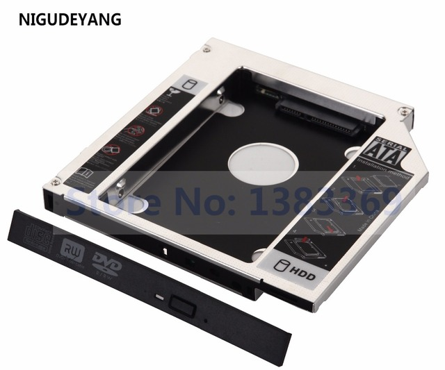NIGUDEYANG 2-й жесткий диск HDD SSD SATA Optical Bay Caddy для шлюза NE5631u NE56R12b NE56R41u