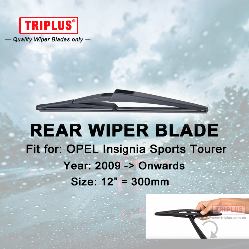 """Rear Wiper Blade for OPEL Insignia ST(2009-Onwards) 1pc 12"""" 300mm,Car Rear Windscreen Wipers,for Back Windshield Blades Vauxhall"""