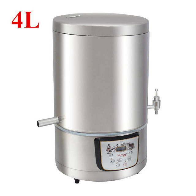 4L Wine Brewing Machine Wine Maker Pure Household Commercial Microcomputer Hydrosol Brandy Whisky Wine Brewing Device Brew Maker