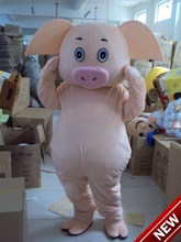 2017 New Mascot Costume Adult Character Costume Mascot As Fashion Freeshipping Cosplay Pink Pig