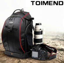 TOIMEND Digital SLR Photo Camera Bag DSLR Notebook  Backpack  With a rain cover