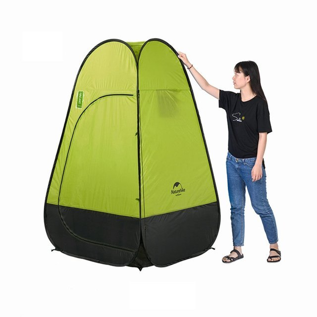 Naturehike Shower Tent Beach Fishing Shower Outdoor Camping Toilet Tent changing Room Shower Tent With Carrying Bag
