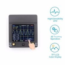 Mini Touching Screen Digital Oscilloscope With Probe High Accuracy Oscilloscope For Vehicle Household Appliances Maintenance
