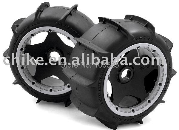Free Shipping - Rear Sand Buster Tyres 2pcs/pair for 1/5 scale baja 5B - rear sand tires 85047