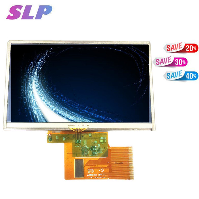 """Skylarpu 5"""" inch For TomTom XXL IQ Routes Full GPS LCD display screen with touch screen digitizer panel free shipping"""