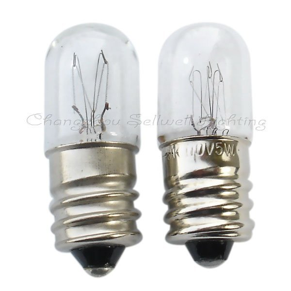 2020 Rushed New Commercial Professional Ccc Ce Lamp Edison New!e12 T13x34 5-7w Miniature Lamp Bulb Light A106