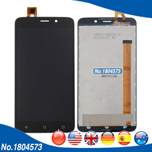 LCD Display + Touch Panel For Fly Nimbus 9 FS509 FS 509 Touch Screen Panel Digitizer Assembly Replacement Parts 1PC/Lot