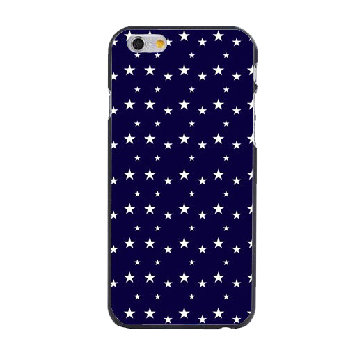 New 2016 White Pentagram Five-pointed Star Print Plastic Hard Phone Case for iPhone 4/4s/5/5s/5c/6/6s/6plus/6s plus