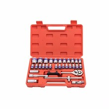 Details about  /32 pcs auto repair kits Household car repair tools wrench sleeve toolbox