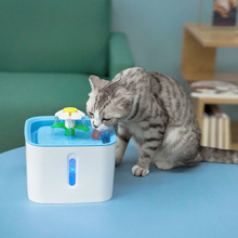 Automatic Pet Cat Water Fountain With LED Electric USB Dog Cat Pet Mute Drinker Feeder Bowl Pet Drinking Fountain Dispenser