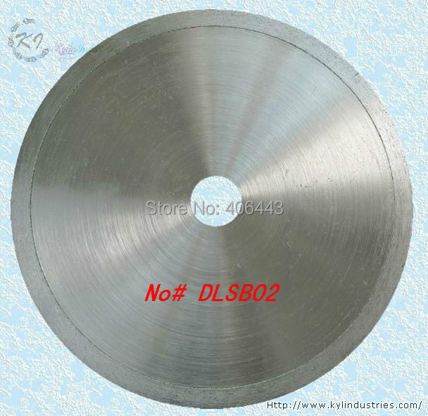 6inch Continuous Rim Saw Blades 160mm Economical Electroplated Diamond Lapidary Blades for Cutting Glass and Jade Agate