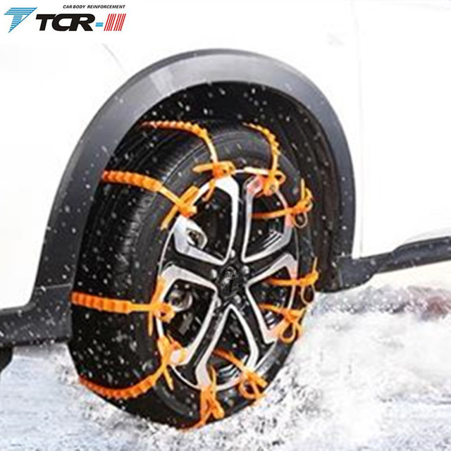 spikes car tires winter New 10 PCS Snow Tire Chain for Car Truck SUV Anti-Skid Emergency Winter Driving