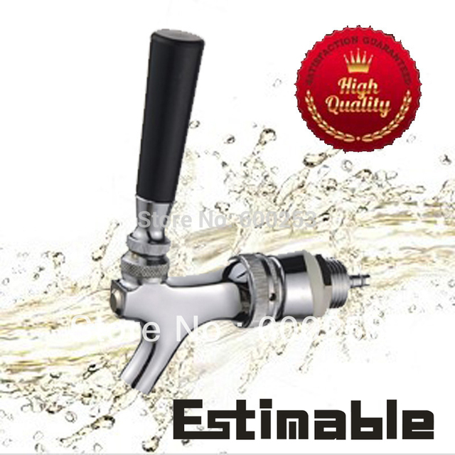 Us style beer tap Beer faucet ST 8307 with  6mm bent tail piece , Factory outlet ,best price