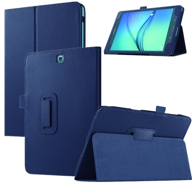 For Samsung Galaxy Tab A T350 Stand PU Leather Cover Case for Samsung Galaxy Tab A 8.0 T350 T355 Tablet Leather 2017 New  Case