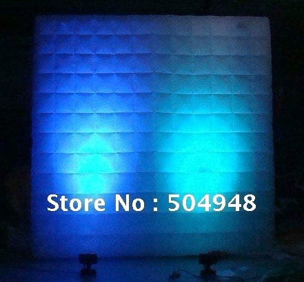inflatable lighting wall for advertising decoration
