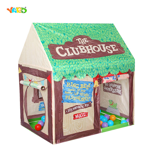 YARD Games Children's Tent foldable Game tent Toys for kids baby crawl tunnel baby play YARD Baby portable indoor outdoor High-Q