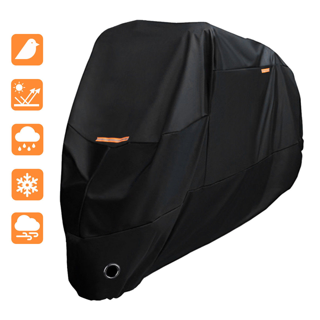 XXL Waterproof Outdoor Motorcycle Moto Cover Electric Bicycle Covers Motor Rain Coat Snow Dust Protection Cover for All Motors