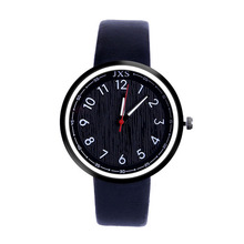 Woman Large dial watches Fashion Leather Band Analog Quartz Round Wrist Watch Casual ladies clock female Watches Montre Femme