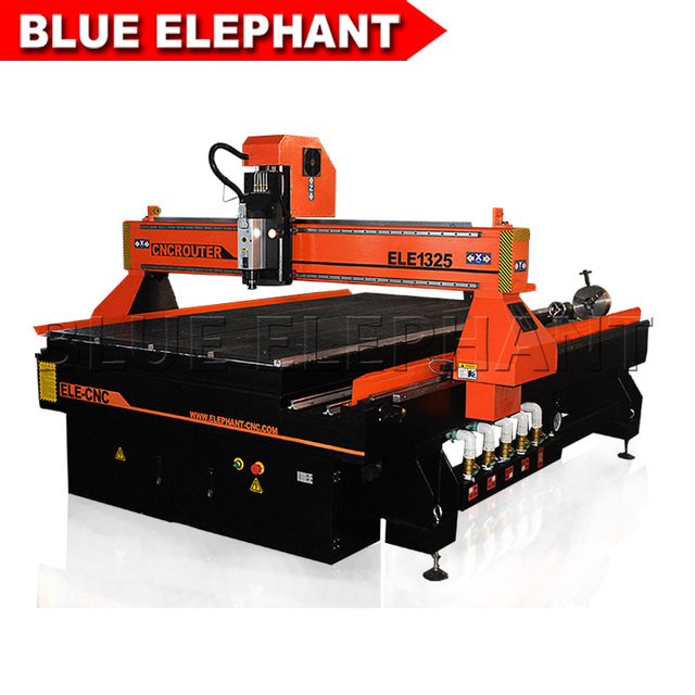 cnc engraving machine 1325 wood cnc router 3kw spindle motor 1300*2500*200mm china wood cnc engraver factory price