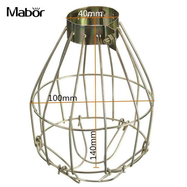 Lamp Cover Iron Copper 10 * 14cm Anti-Scald Explosion-Proof Home Household Reptile Supply for Ceramic Heat Lamps Guard