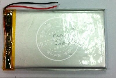 3.7V polymer lithium battery, 704575 mobile power, tablet PC, GPS navigator, 3000MAH Rechargeable Li-ion Cell