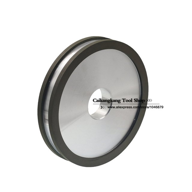 100% PSA 150*36*25*10*5 Diamond Grinding Wheel Double-sided concave Resin diamond wheel grinding for Tungsten Steel Carbide