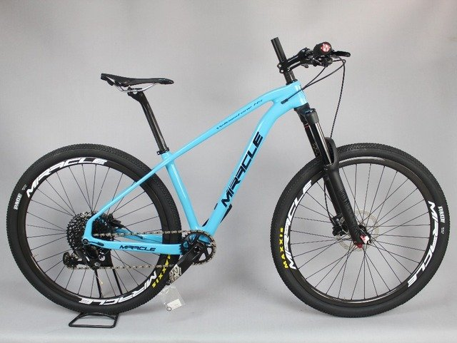 MIRACLE 29er Carbon Mtb Bicycle  22 speeds Carbon Mountain Bicycle Toray  Carbon complete bike 29inch