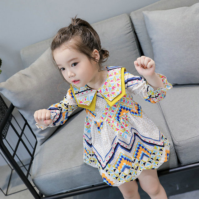 Girls Dresses Autumn Toddler Evening Vestido Infantil  Kids Clothes Wedding Children Clothing Baby Girl Dress Princess