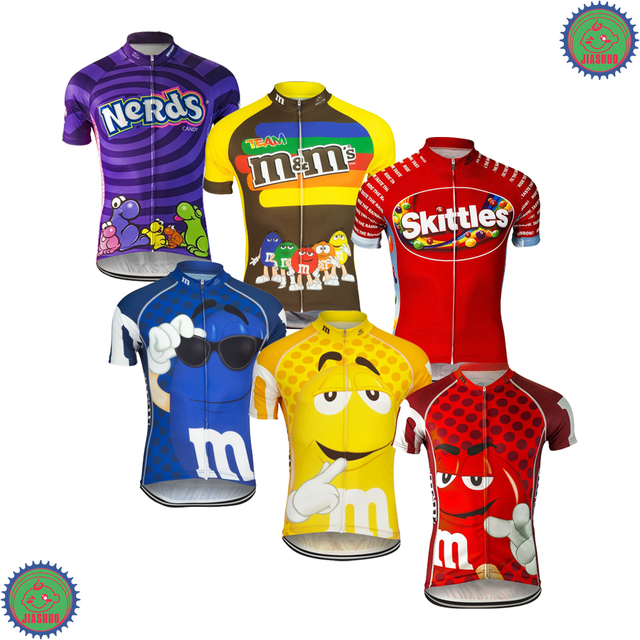 NEW 2017 JIASHUO candy Ciclismo Ropa Bike RACE Pro Team Bicycle Cycling Jersey / Wear Clothing / Breathable Customized 7 Chooses