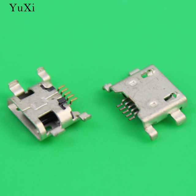 YuXi  1PCS Micro USB charger Dock Charging Port jack socket connector Repair Replacement for OPPO R831 series cellphone