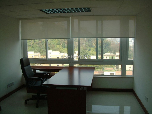 electric roller blinds, 1.2m wide, 0.5-1.8m hight, sunscreen fabric