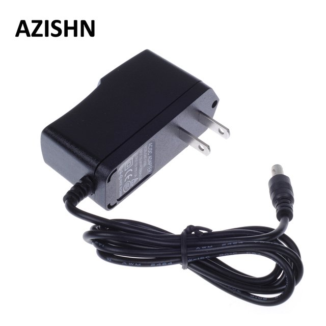AZISHN AC 100-240V DC 12V 1A US Plug AC/DC Power adapter charger Power Adapter for Security CCTV Camera (2.1mm * 5.5mm) US