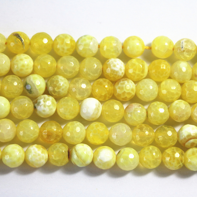 Special natural Yellow stone agat carnelian onyx 6mm 8mm 10mm 12mm stone faceted round loose beads making gift A20