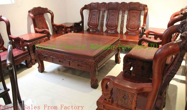 Chinese classical mahogany furniture rosewood furniture rosewood sofa living room sofa Chinese style sofa tradition luxurious