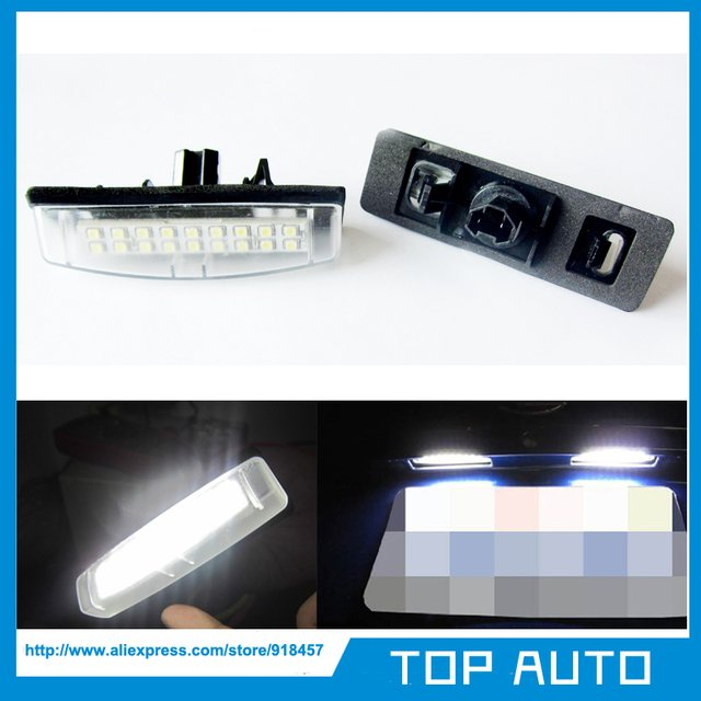 Error Free White OEM Replacement LED Number License Plate Light Lamp for LEXUS LS430 XF30/UCF30 IS200 RX300 ES300 GS300
