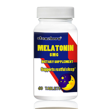 Melatonin 5 мг 60 шт поддерживает Восстанавливающий сон