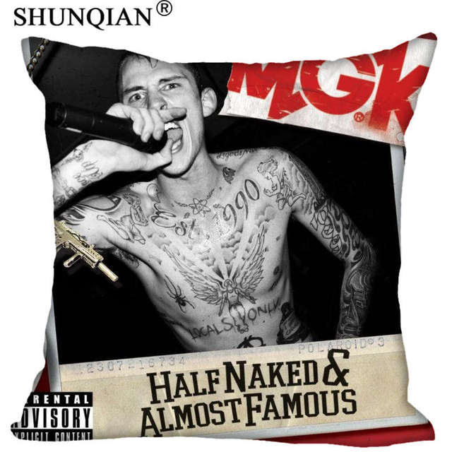 New Arrival mgk general Square Pillowcases zipper Custom Pillow Case More Size Custom your image gift