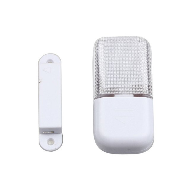 New High Quality LED Light White Automatic Magnetic Sensor Wireless LED Light Closet Drawer Wardrobe Lamp Cupboard