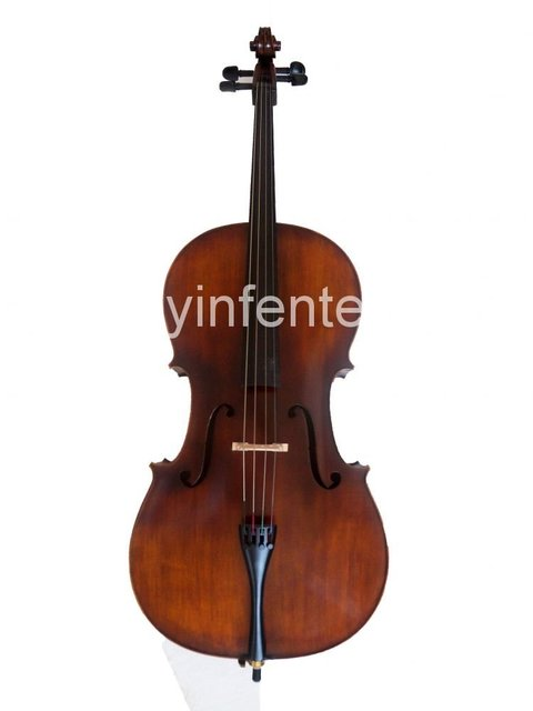 4/4 Full Size New cello Powerful Sound solid wood Body Powerful Sound Ebony Part #1